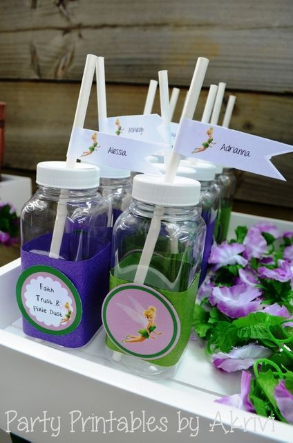 souvenirs para fiesta infantil con tematica de campanita