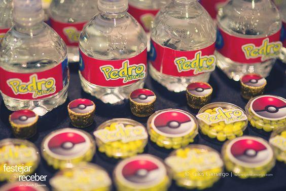 souvenirs para fiesta tematica de pokemon
