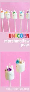 adornos de unicornios para fiestas con dulces
