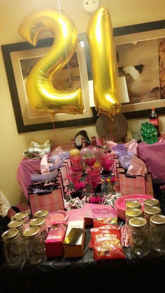 celebracion 21 años mujer