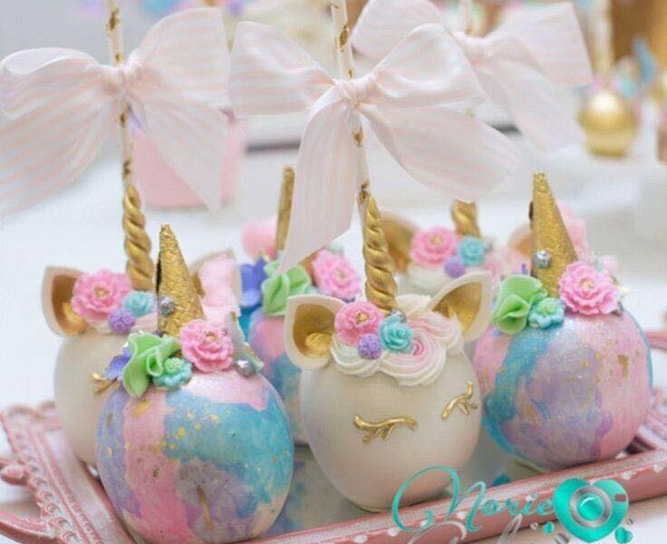 dulces unicornio para tu fiesta