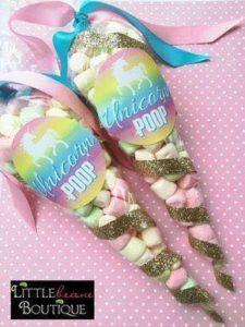fiesta de unicornio ideas de dulces