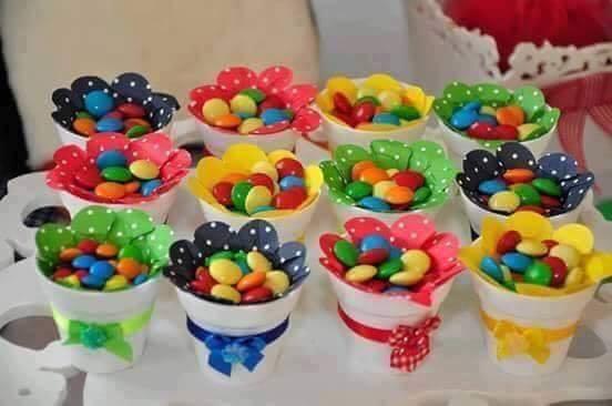 souvenirs para cumpleaños de niños con lunetas de chocolate