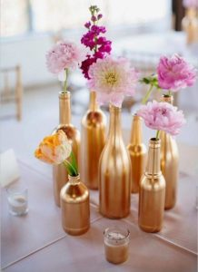 Centros de mesa para decorar una Fiesta de mujeres de 40