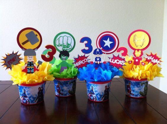 Centros económicos para Fiesta de Avengers