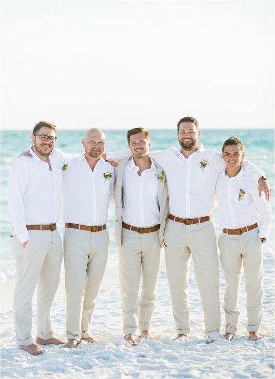 Como vestirse para una fiesta en la playa - hombres