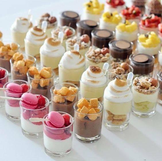 Detalles para agregar a la Mesa de dulces en una Fiesta de mujeres de 40