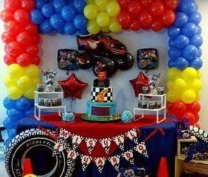 Decoracion Fiesta Blaze the Monster Machine
