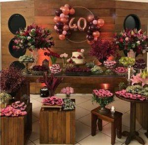 Decoracion para Fiesta de mujeres de 40