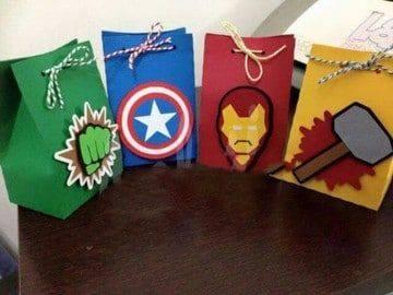 Dulceros para Fiesta de Avengers