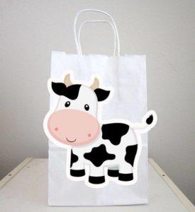 Dulceros para fiesta infantil de la Vaca Lola