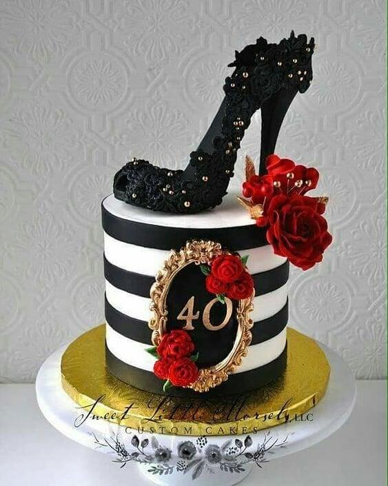 Ideas de pastel para fiesta de mujeres de 40 años o mas
