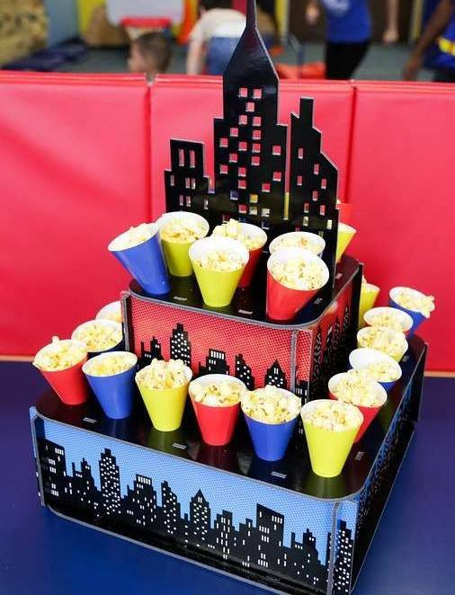 Ideas para decorar Fiesta de super heroes