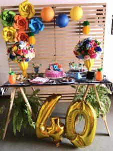 Ideas para decorar una Fiesta de mujeres de 40