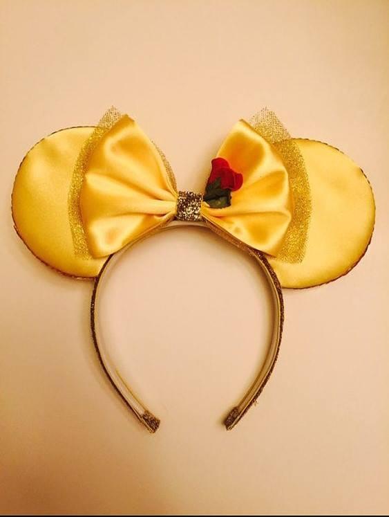 Ideas para diseñar Diadema de la princesa Bella