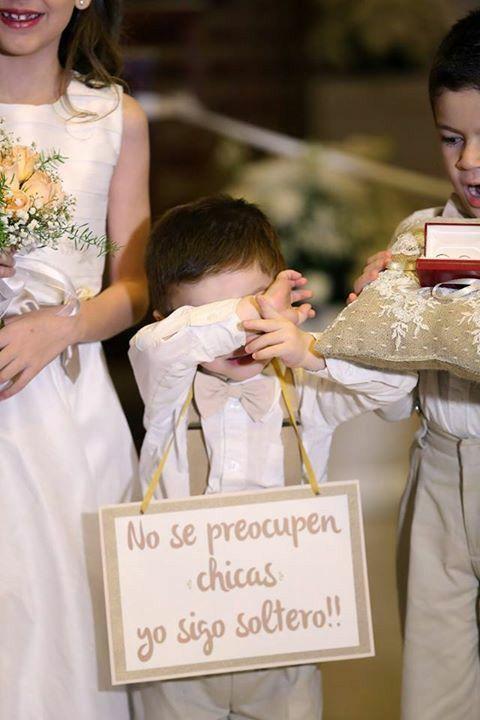 Letreros para bodas pajes