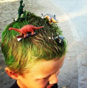 Peinados locos para niños faciles de hacer