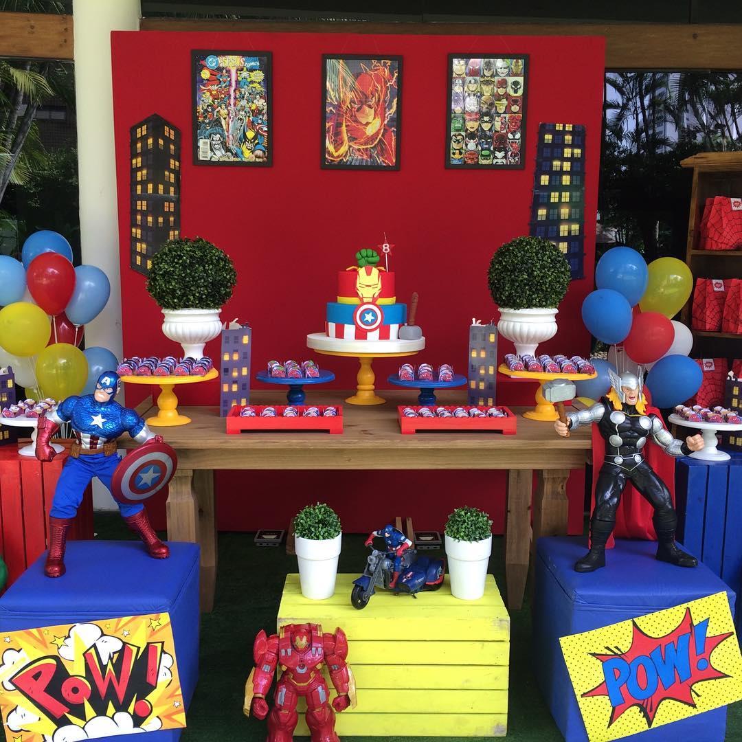 Todo para decorar Fiesta de los Avengers