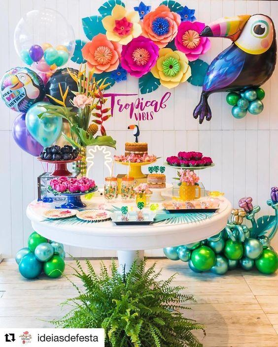 decoracion de fiestas para verano 2019