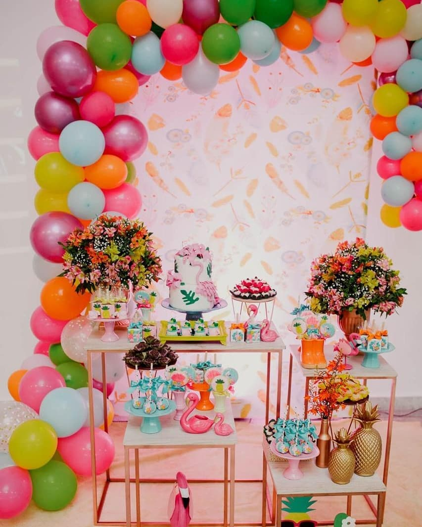 ideas para decorar fiesta hawaiana