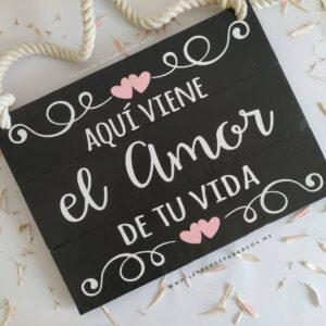 Letreros originales para bodas