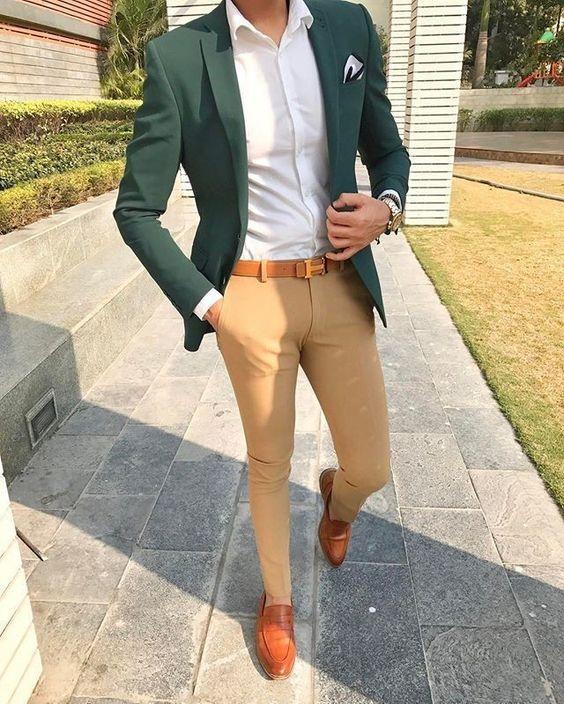 looks para fiestas con outfit casual para hombre