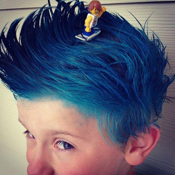 peinados locos para el dia del niño