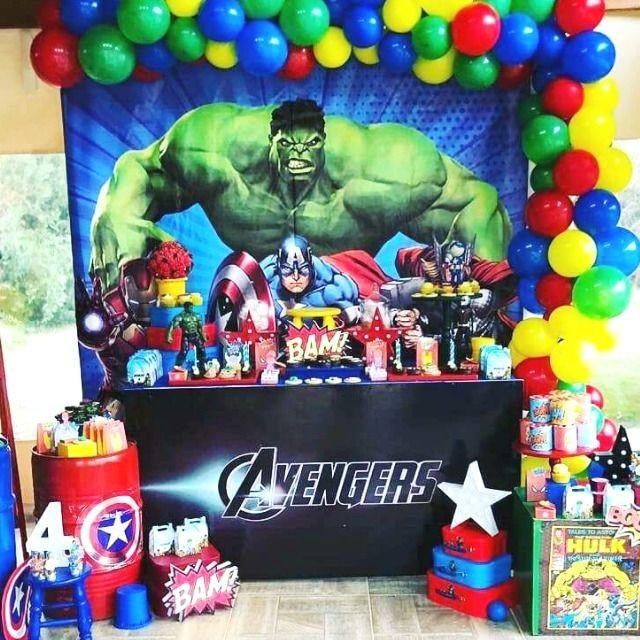 Como decorar fiesta de avengers