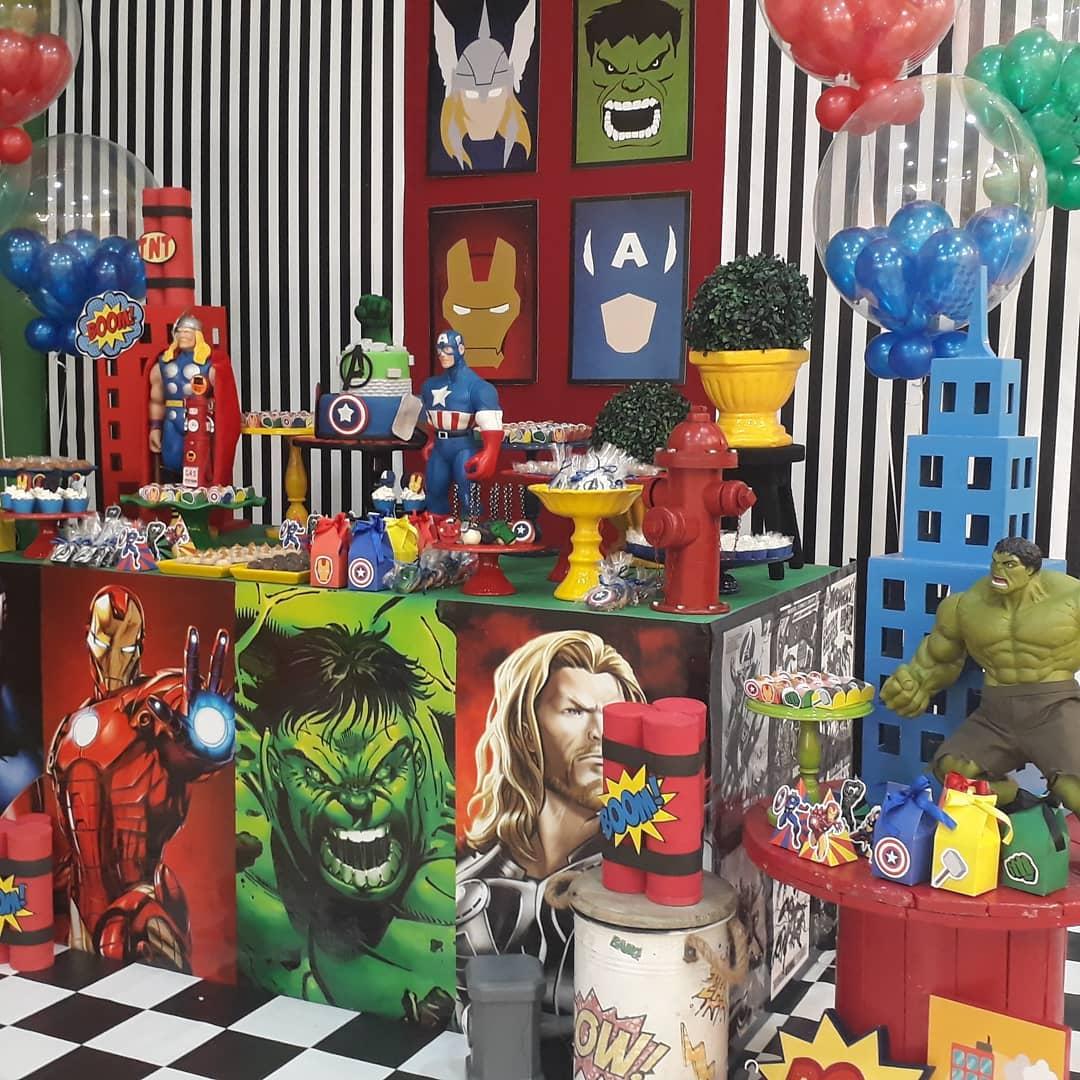 Fiesta infantil avengers