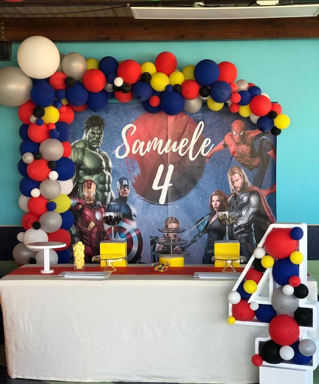 Ideas para decorar fiesta de avengers