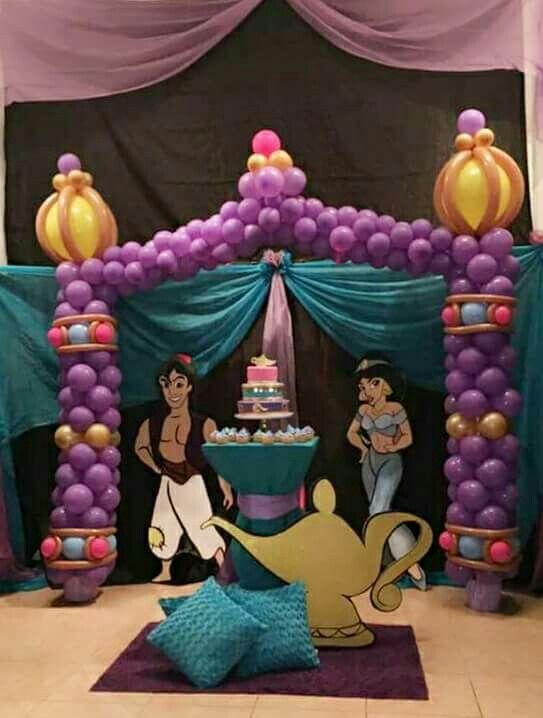 Backdrops para Fiesta de Aladin