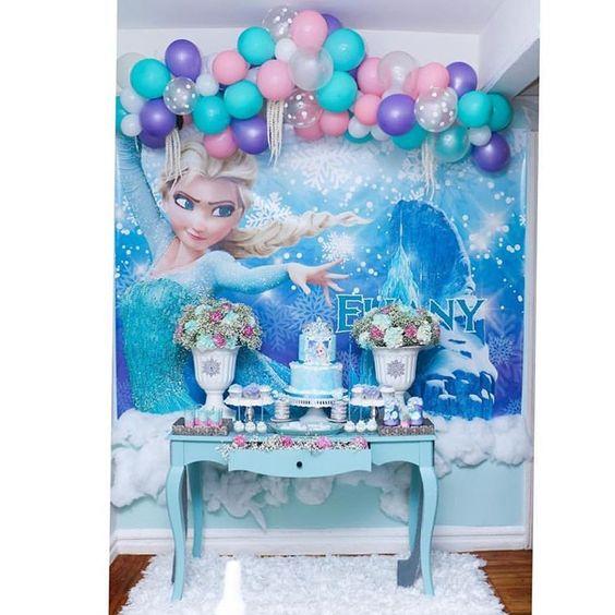 Cumpleaños infantil de Frozen 2