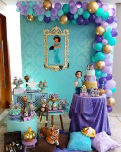 Decoracion Fiesta de Aladin