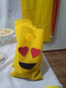 Dulceros para Fiestas tematicas de Emoji