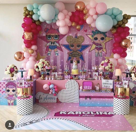 Fiesta de Lol Surpise para niña