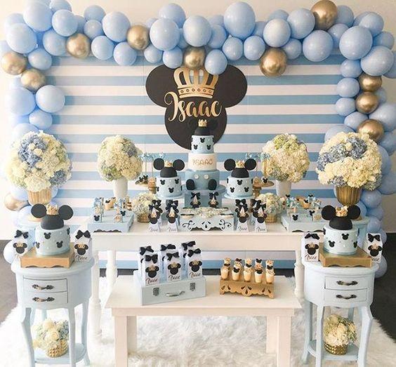 Fiestas de Mickey Mouse príncipe