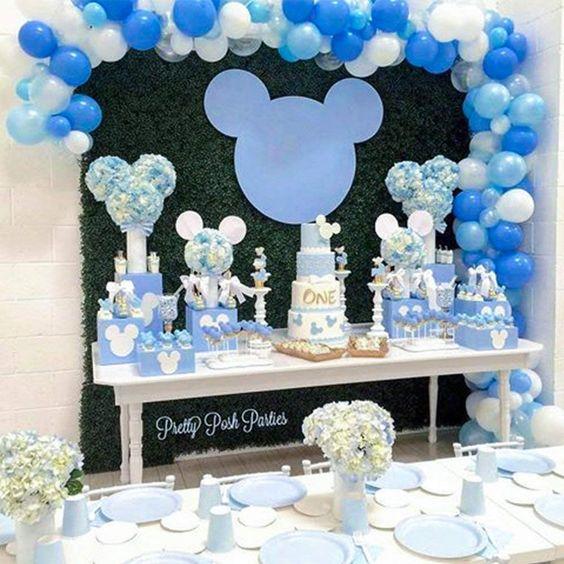 Fiestas De Mickey Mouse Príncipe Ideas Para Decorar El Cumpleaños
