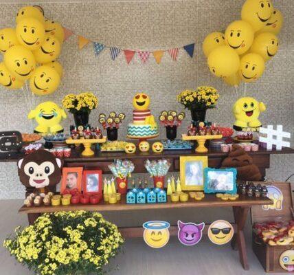 Fiestas tematicas de Emoji