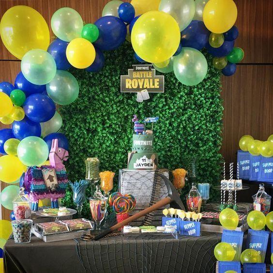 Las mejores 30 ideas para fiesta de fornite