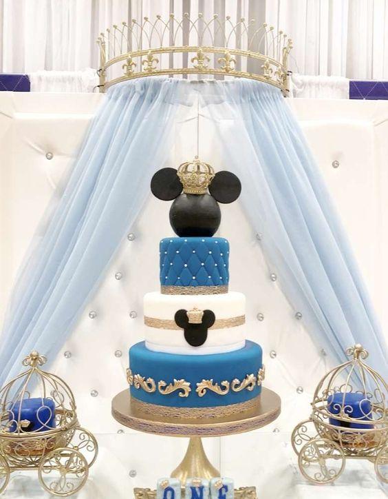 Pastel de Mickey Mouse príncipe