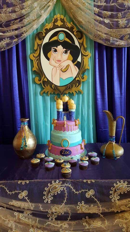 Pastel para el cumpleaños de Aladin