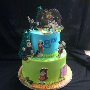 Pasteles para cumpleaños de Gravity Fall