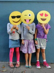 Photocall para Fiestas tematicas de Emoji