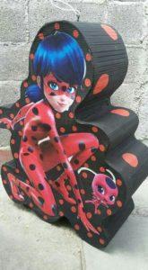 Piñata para Fiesta de Lady bug
