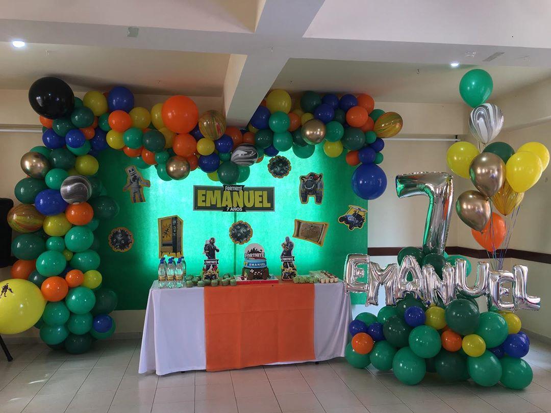 Como decorar para fiesta de fortnite