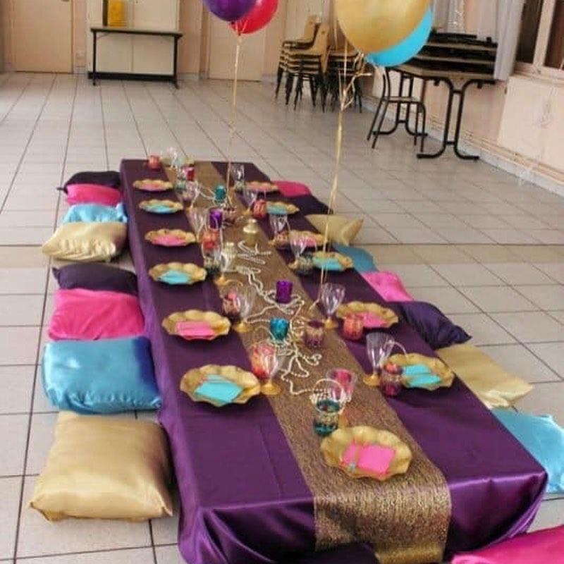 Fiesta de aladin decoracion
