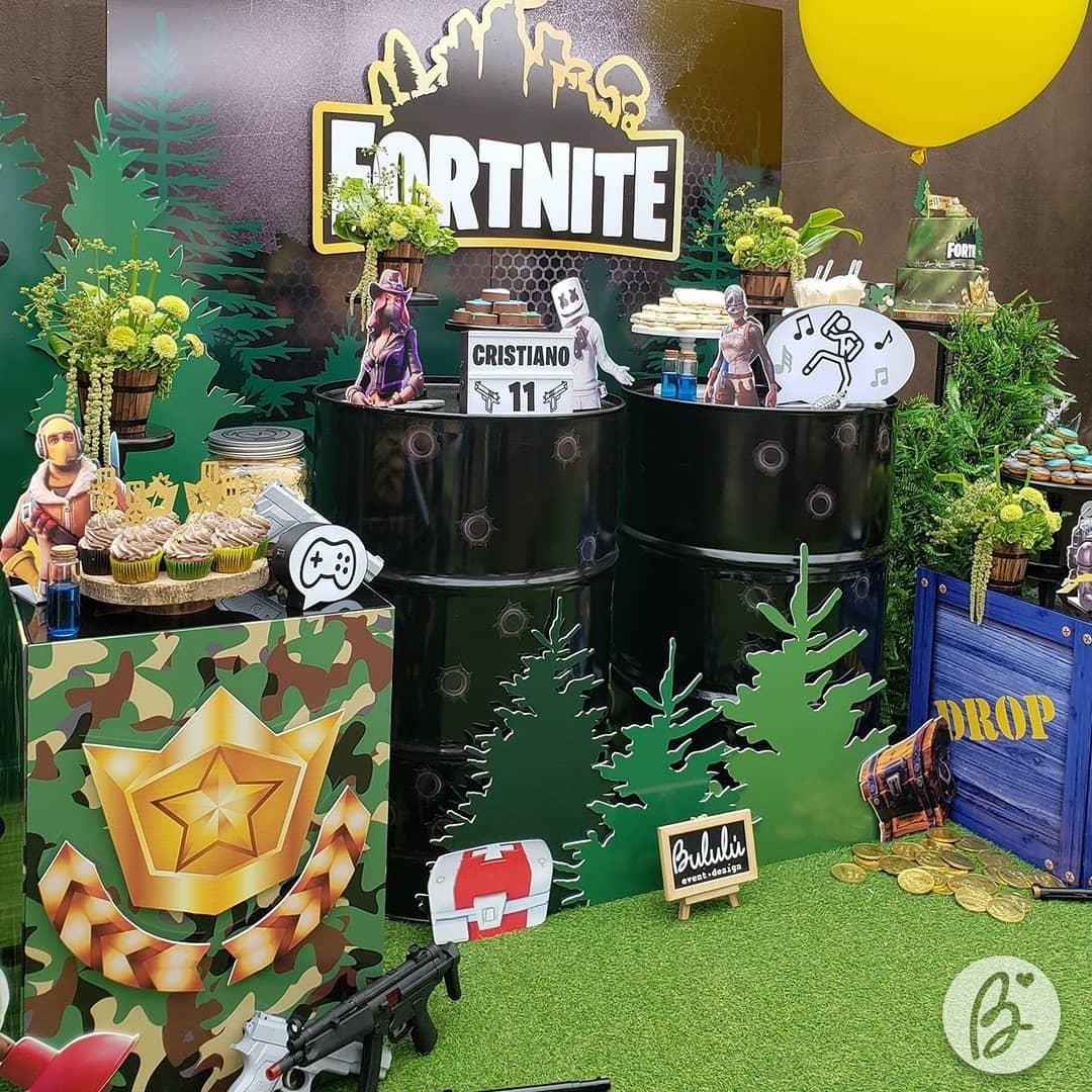 Fiesta fortnite decoracion