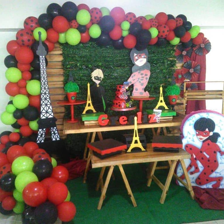 Ideas de decoracion de fiestas de lady bug