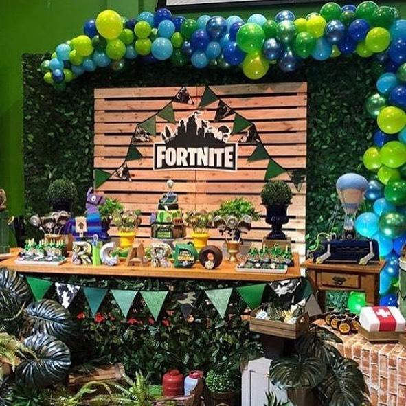 Ideas de decoracion para fiesta de fortnite