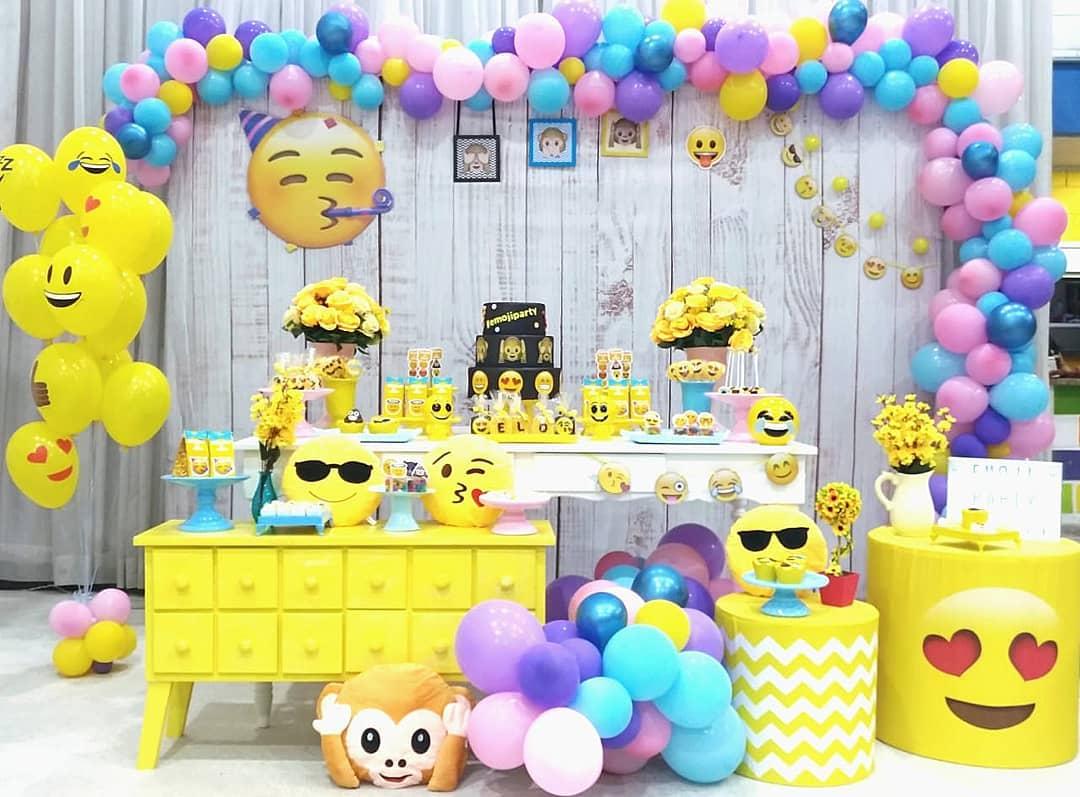 Ideas de decoracion para fiesta temática de emoji